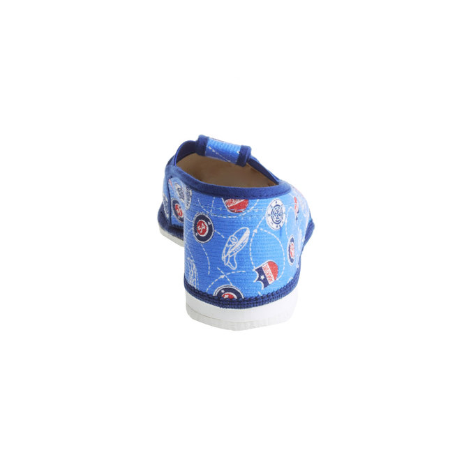 Dětské pantofle bata, modrá, 279-9011 - 17
