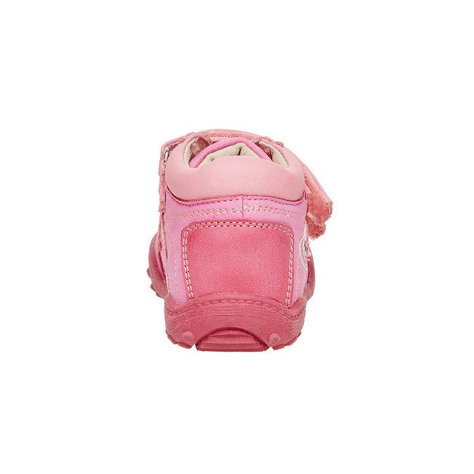 Dívčí kotníčkové boty mini-b, růžová, 121-5104 - 17