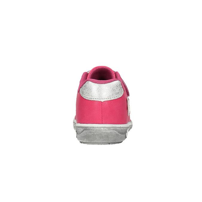 Růžové dětské tenisky s kytičkami mini-b, růžová, 221-5602 - 17