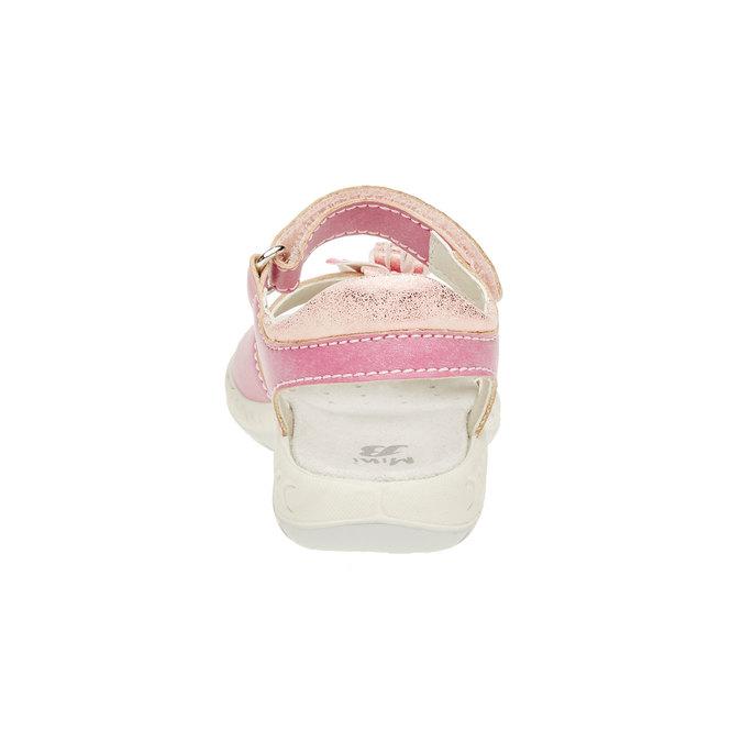 Dětské sandály mini-b, růžová, 361-5119 - 17
