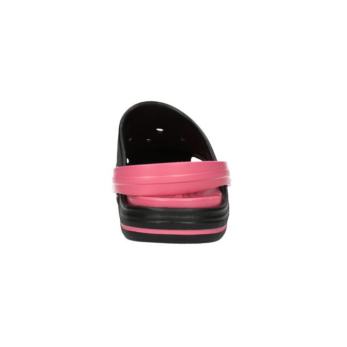 Dámské sandály Clogs coqui, černá, 501-6650 - 17