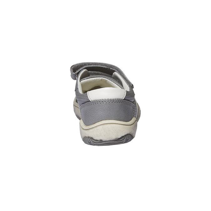 Dětské tenisky na suché zipy mini-b, šedá, 311-2214 - 17