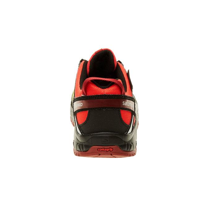 Dětská sportovní obuv salomon, oranžová, černá, 309-5007 - 17