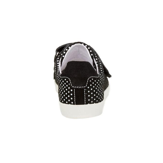 Kožené tenisky s puntíky weinbrenner, černá, 526-6300 - 17