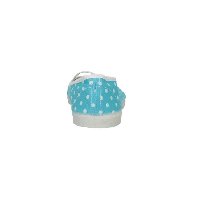 Dětské cvičky s puntíky bata, modrá, 379-9103 - 17