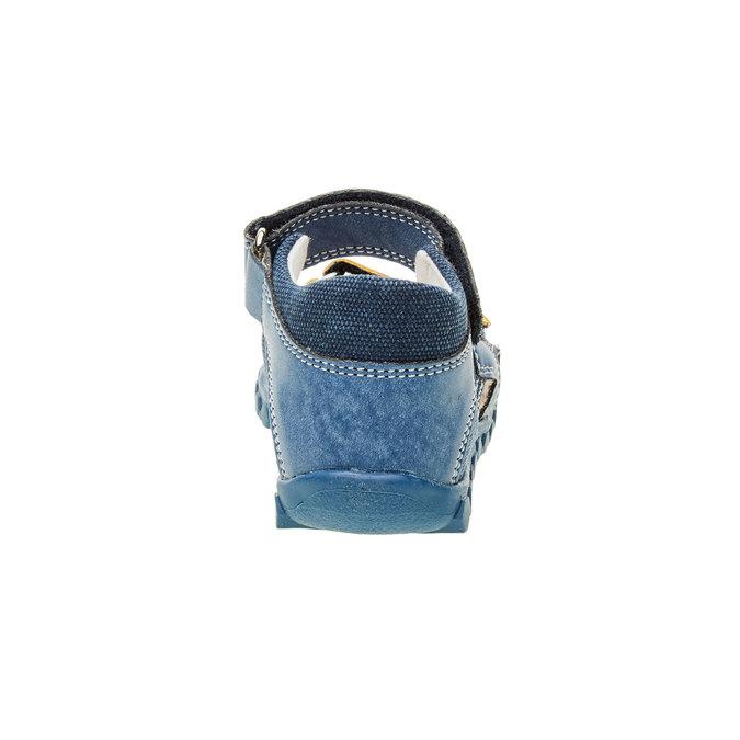 Dětské sandály na suché zipy primigi, modrá, 161-9114 - 17
