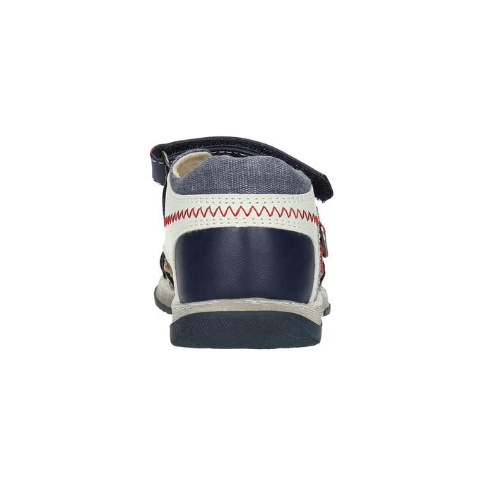 Dětské sandály mini-b, modrá, 161-9100 - 17