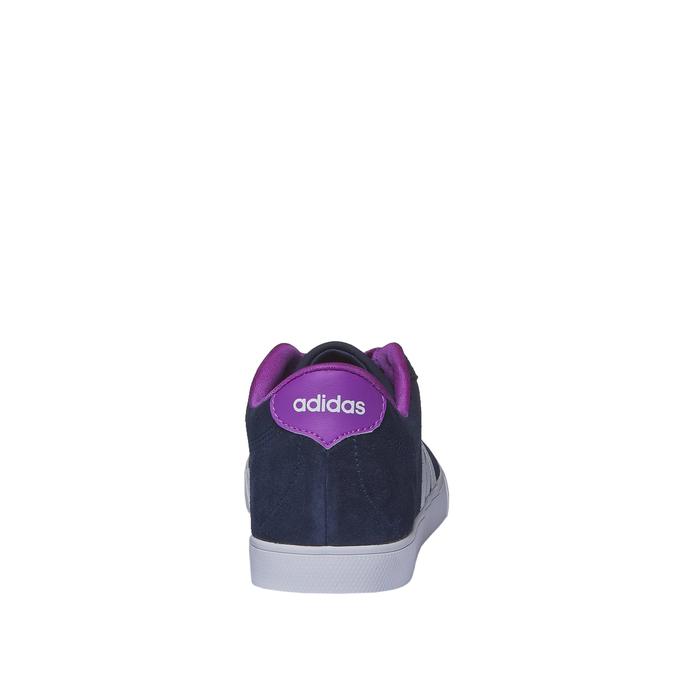 Ležérní kožené tenisky adidas, modrá, 503-9685 - 17