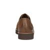 Dámské kožené polobotky bata, hnědá, 526-4600 - 17