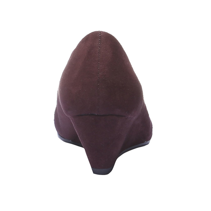 Lodičky na klínovém podpatku bata, fialová, 729-5231 - 17
