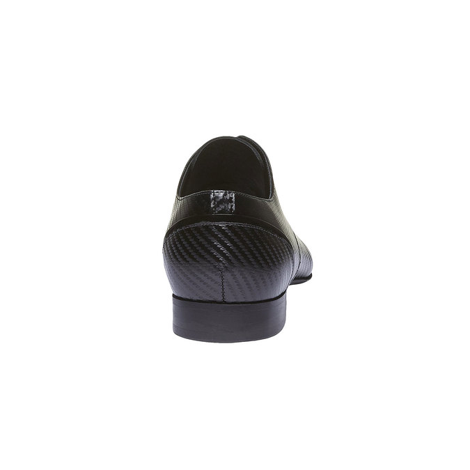 Kožené pánské polobotky conhpol, černá, 824-6149 - 17