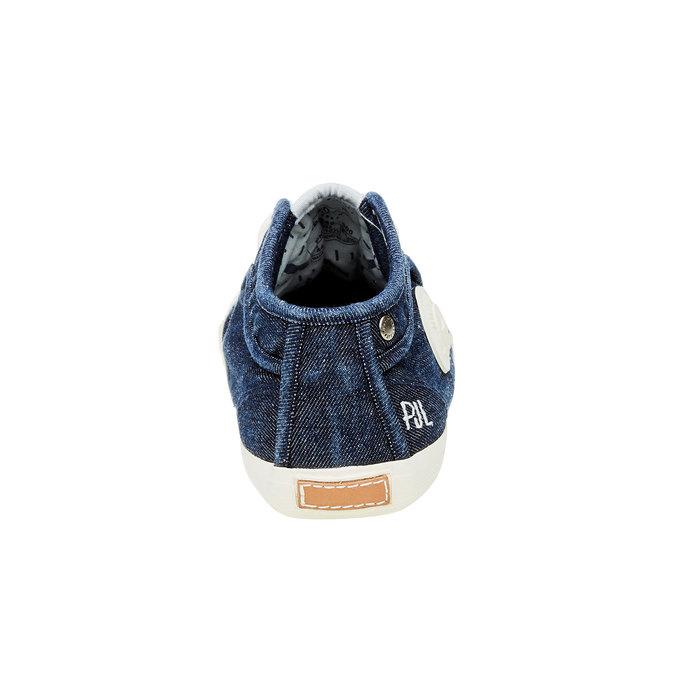 Pánské tenisky pepe-jeans, modrá, 829-9009 - 17
