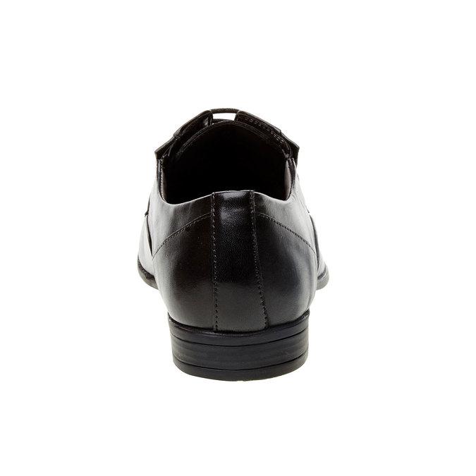Kožené polobotky s pružením bata, černá, 824-6832 - 17