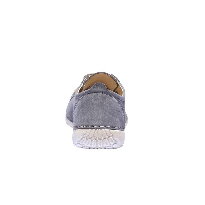 Komfortní kožené tenisky weinbrenner, šedá, 544-9151 - 17