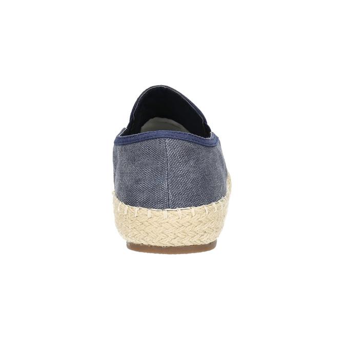 Pánské Slip on boty bata, modrá, 839-9116 - 17