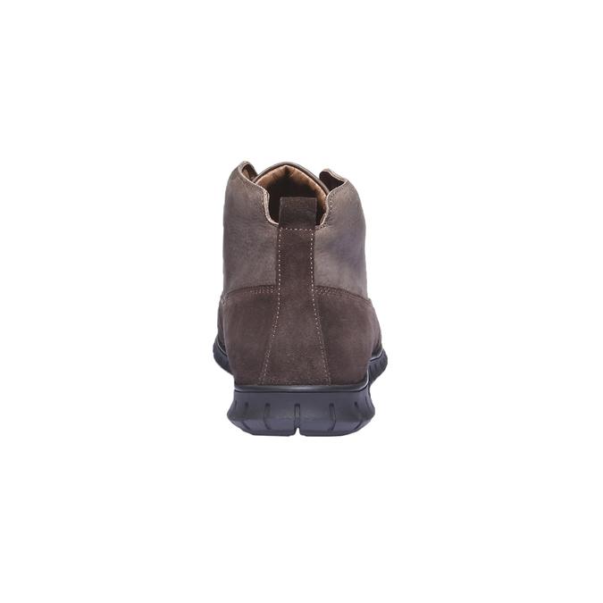 Ležérní kožené tenisky bata, hnědá, 896-4195 - 17