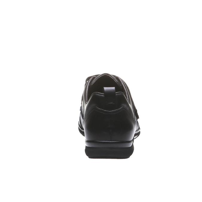 Kožené tenisky bata, černá, 814-6344 - 17