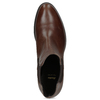 Kožená Chelsea obuv bata, hnědá, 594-4448 - 17