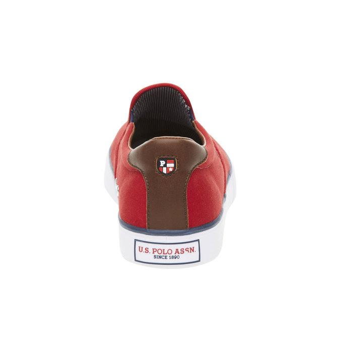 Pánské červené Slip on u-s-polo-assn-, červená, 849-5002 - 17