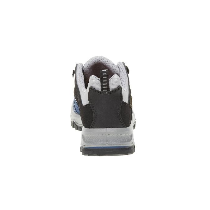 Kožené Outdoor boty, modrá, 543-9208 - 17