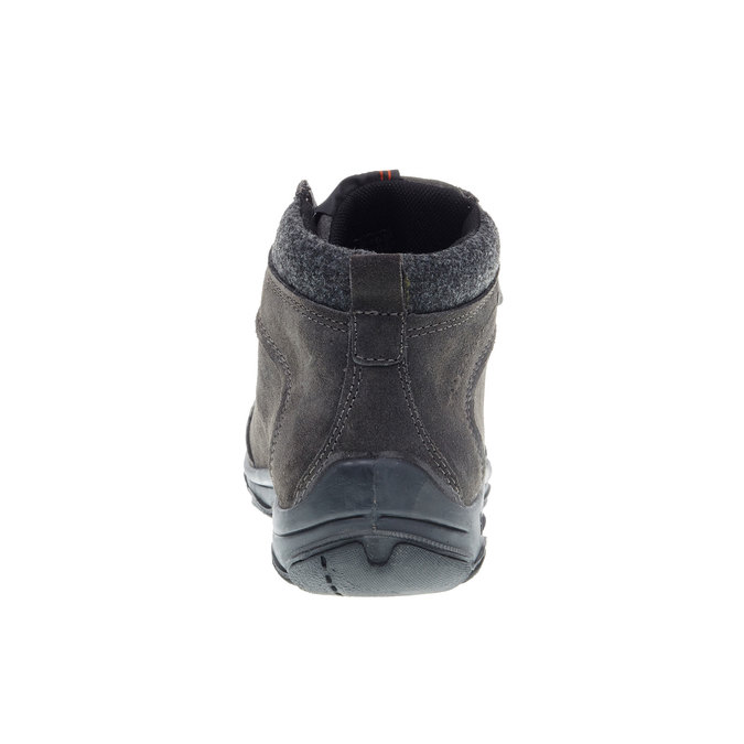 Kožené zimní boty weinbrenner, černá, 893-6218 - 17