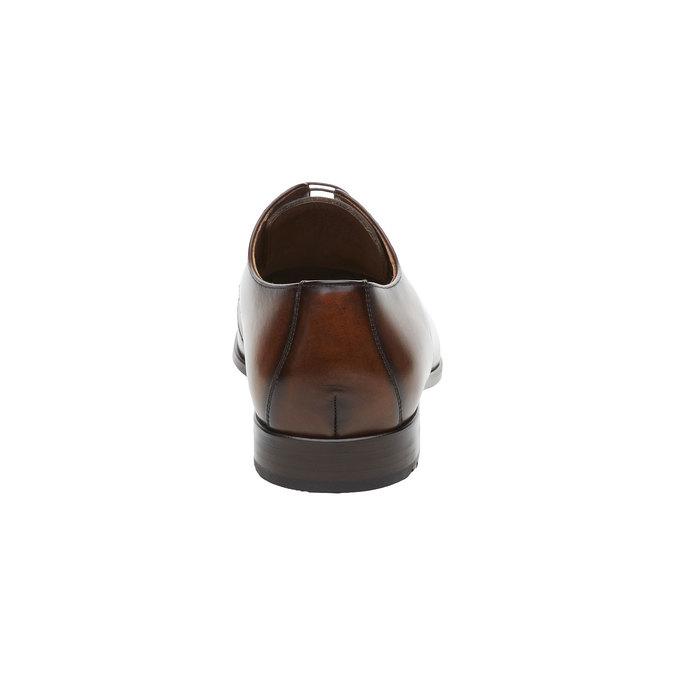 Pánská obuv ve stylu Derby lloyd, hnědá, 824-3338 - 17