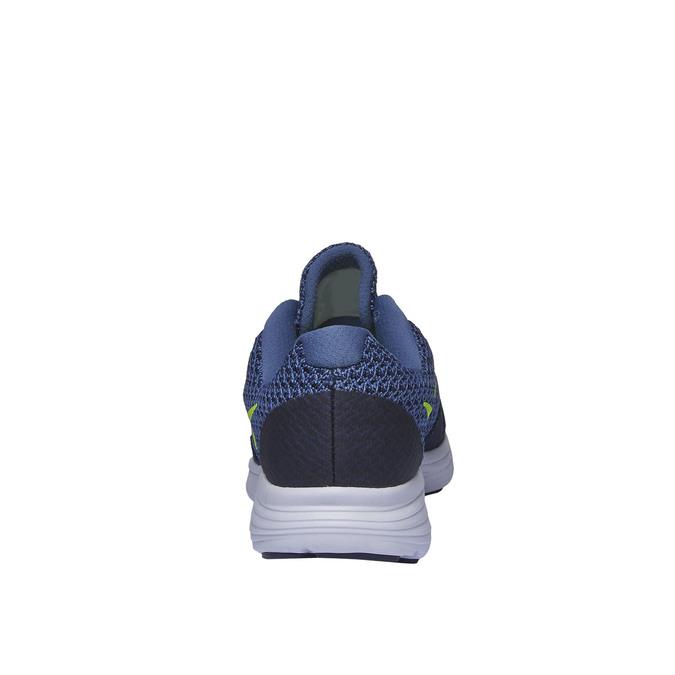 Pánské sportovní tenisky nike, modrá, 809-9220 - 17