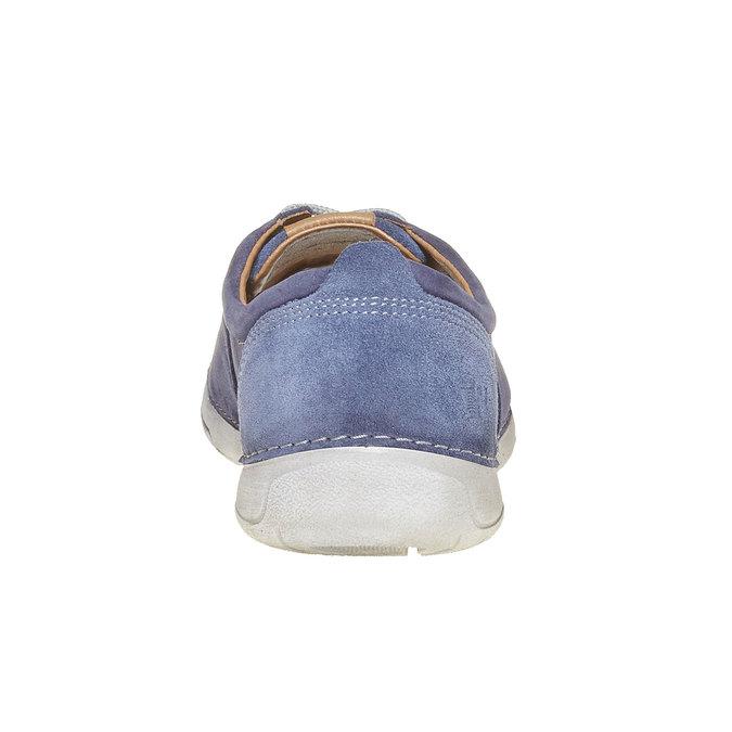 Pánská kožená obuv weinbrenner, modrá, 846-9657 - 17