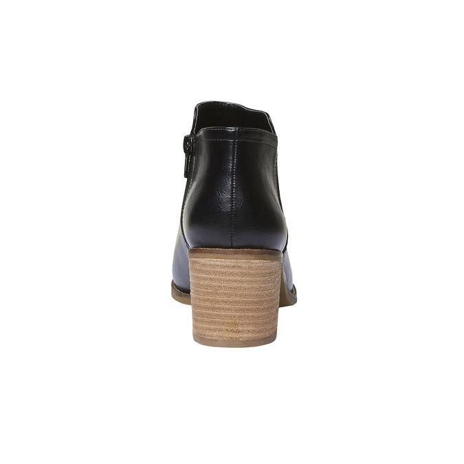 Kotníčkové kozačky bata, černá, 691-6271 - 17