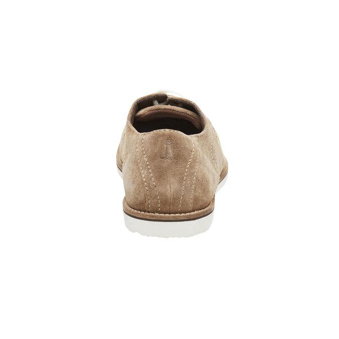 Polobotky z broušené kůže rockport, hnědá, 823-8102 - 17