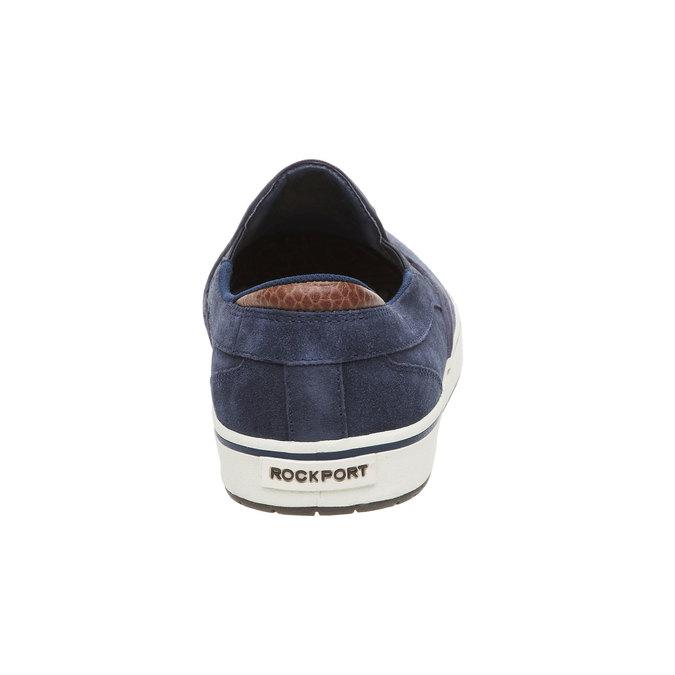 Kožené Plim Soll boty rockport, modrá, 813-9103 - 17