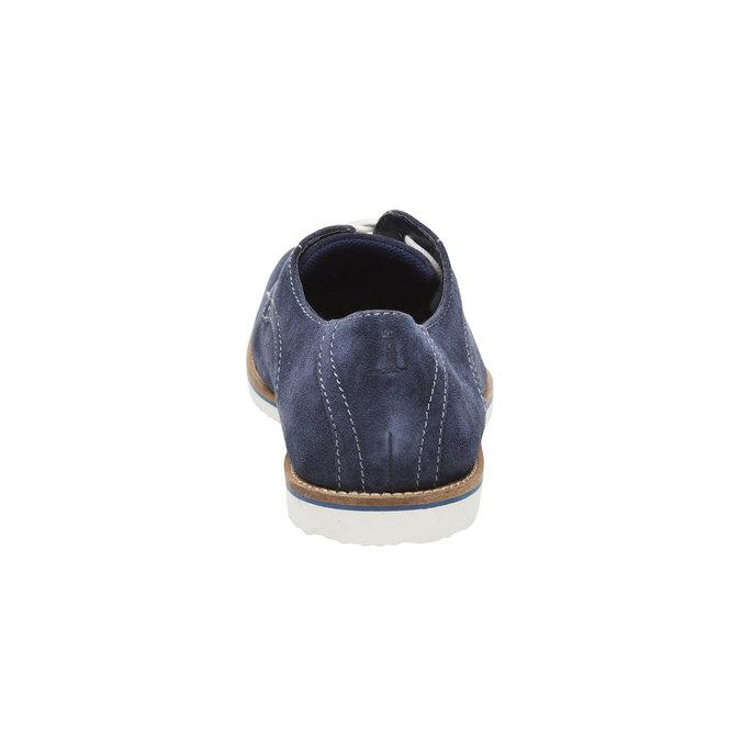 Polobotky z broušené kůže rockport, modrá, 823-9102 - 17