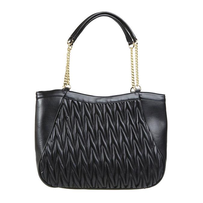 Dámská kabelka bata, černá, 961-6319 - 26