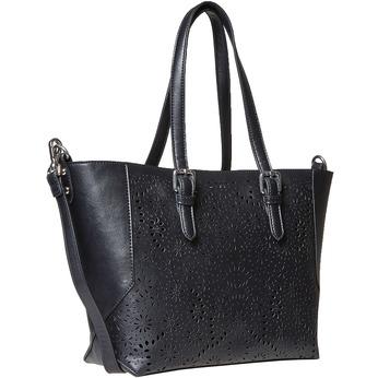 Kabelka v Shopping stylu bata, černá, 961-6799 - 13