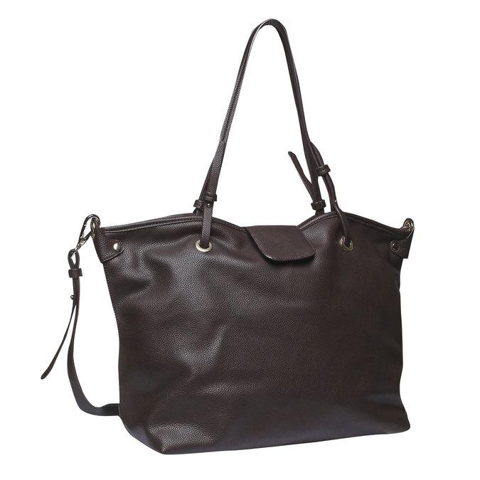Womens Tote Bag bata, hnědá, 961-4365 - 13