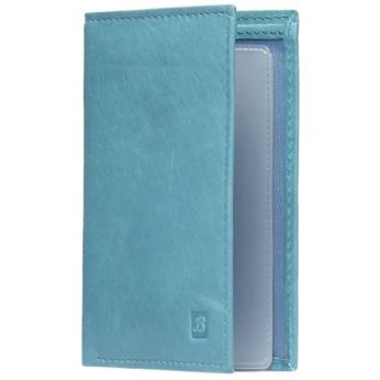 Kožené pouzdro na karty bata, modrá, 944-9158 - 13
