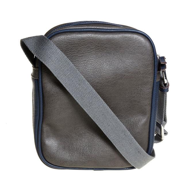 Pánská taška bata, modrá, 961-9772 - 26
