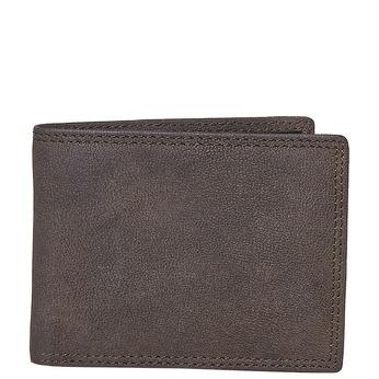Pánská kožená peněženka bata, hnědá, 944-4129 - 13