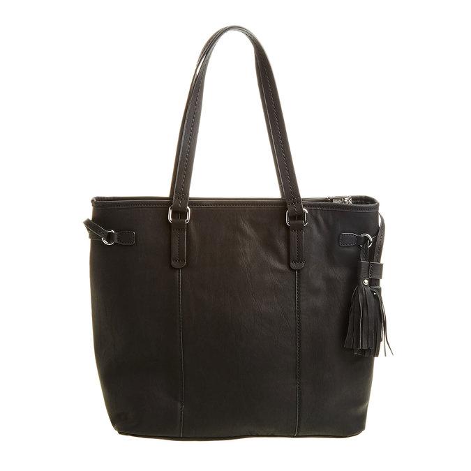 Dámská kabelka se střapci bata, černá, 961-6762 - 26