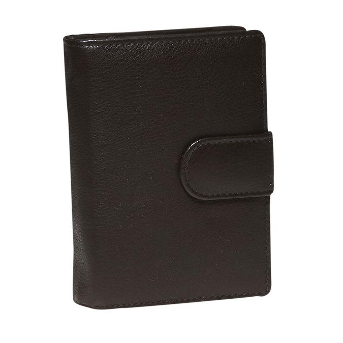 Dámská kožená peněženka bata, hnědá, 944-4117 - 13