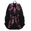 Dívčí školní batoh s puntíky bagmaster, růžová, 969-5601 - 26