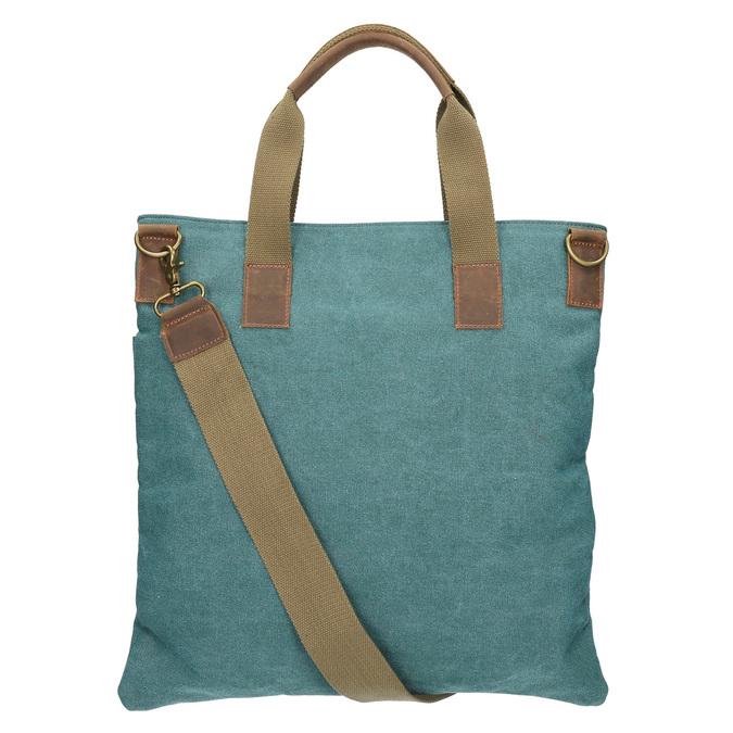Textilní kabelka s popruhem weinbrenner, tyrkysová, 969-9621 - 26
