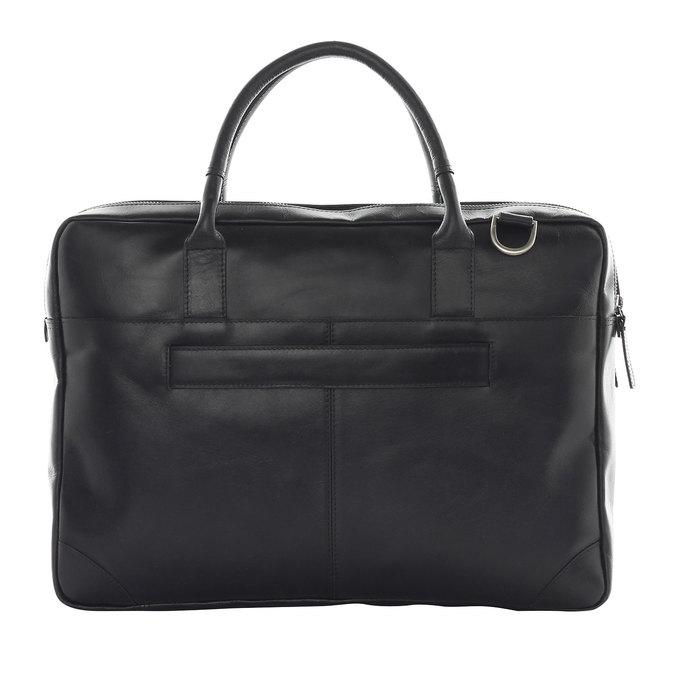 Černá kožená taška royal-republiq, černá, 964-6053 - 26