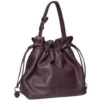 Womens Bucket Bag bata, fialová, 961-5369 - 13