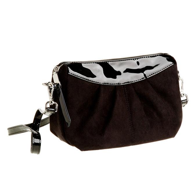 Crossbody kabelka bata, černá, 969-6261 - 13