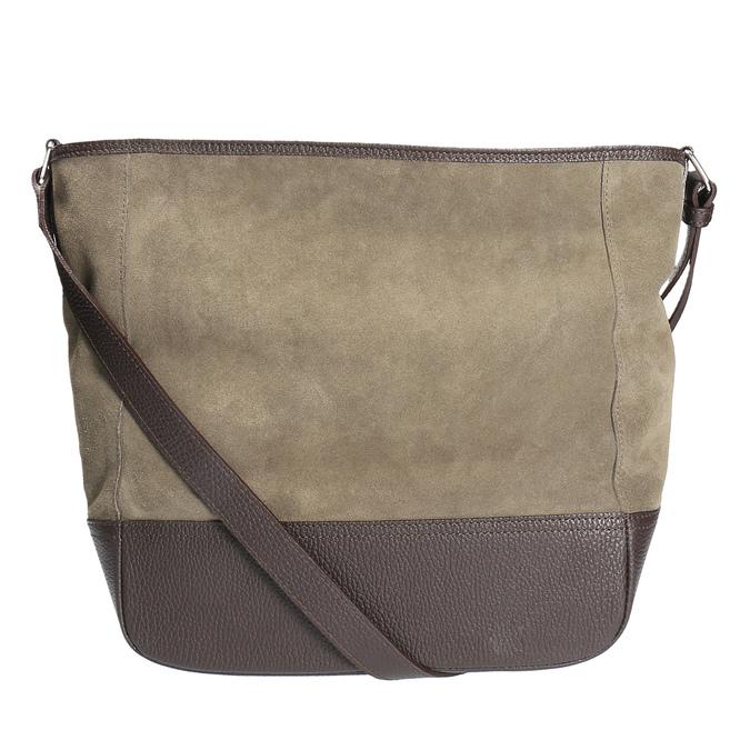 Kožená kabelka weinbrenner, hnědá, 963-4190 - 19