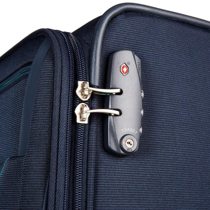 Cestovní kufr na kolečkách samsonite, modrá, 969-9301 - 17