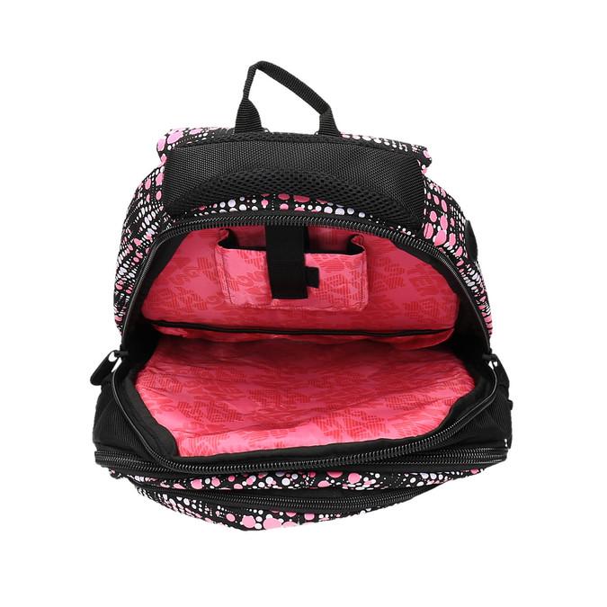Dívčí školní batoh s potiskem bagmaster, černá, 969-5615 - 15