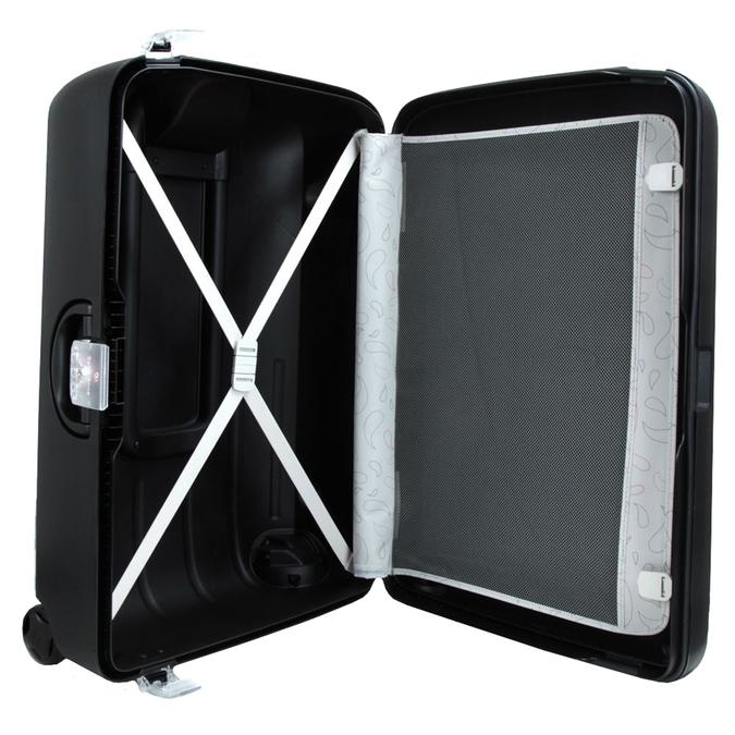 Kvalitní skořepinový kufr samsonite, černá, 960-6323 - 15