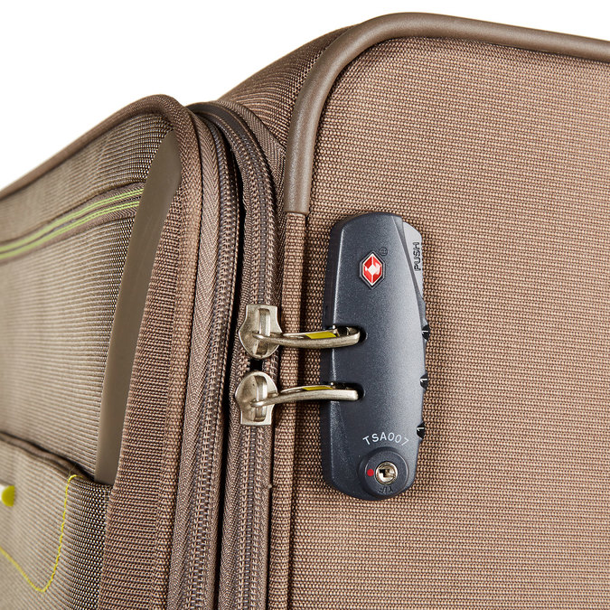 Kufr na kolečkách samsonite, hnědá, 969-4328 - 17